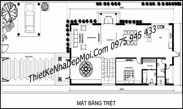 biet thu 3 tang kieu chau au 9x18 8894