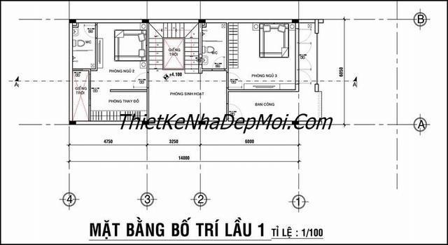 nha ong 3 tang mai thai 6x14m 4461