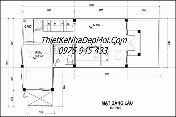 mat bang nha pho 6x15
