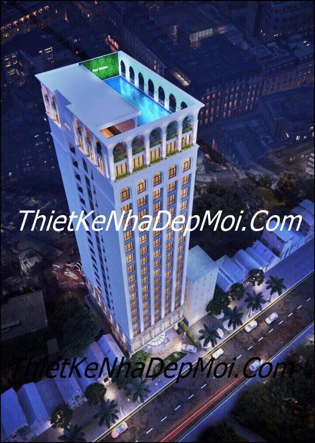 Mẫu thiết kế khách sạn 18 tầng hiện đại tại bán đảo Sơn Trà Đà nẵng