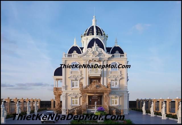Biệt thự lâu đài cổ điển kiến trúc châu âu