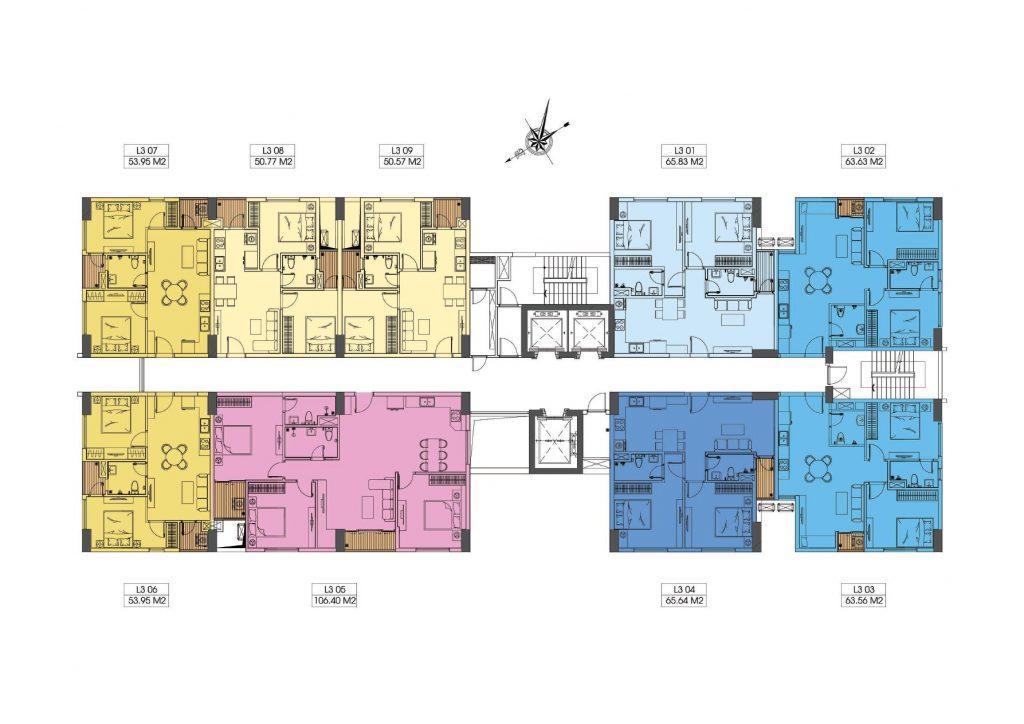 Mẫu thiết kế căn hộ chung cư Le Grand Jardin